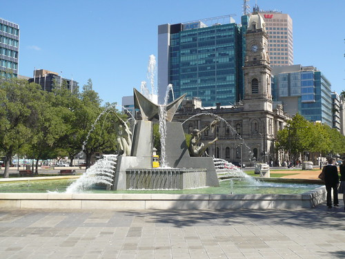 Victoria Square Fountain