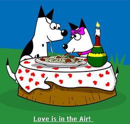 Dogpile Valentines Day Logo