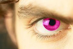 Eye - pink