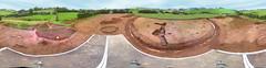 A ringfort and souterrain at Killaltar, near Ballygawley (J-mak) Tags: panorama archaeology rath excavation ringfort ballygawley