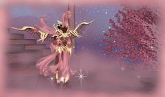 princes des neiges 2 (Linala) Tags: eau prince romance sl amour secondlife neige princesse linala