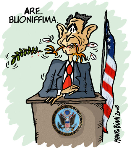 bush-colomba-1 / mauro biani