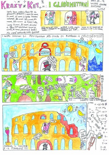 Krazy Kat tribute by Italian schoolchildren - page 7