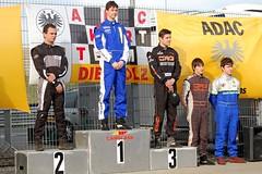 Siegerehrung IcA 100  Rennen 2 (Mach 1 Kart) Tags: kart oschersleben mach1 adackartmasters