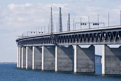 Öresundsbron (Håkan Dahlström) Tags: bridge sea water skåne agua eau wasser sweden schweden malmoe sverige acqua malmö vatten malmo oresund öresund öresundsbron svezia oeresund