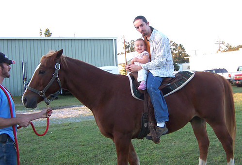 First horse ride