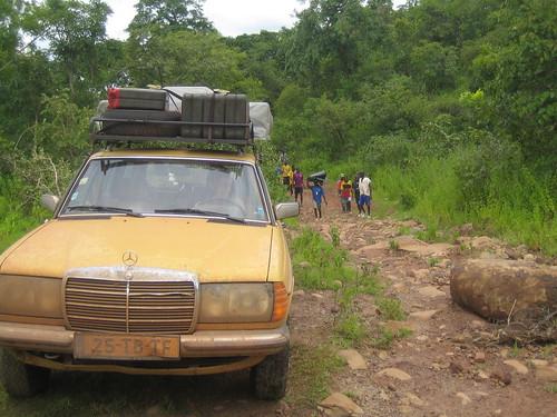 Offroading in Guinea Conakry
