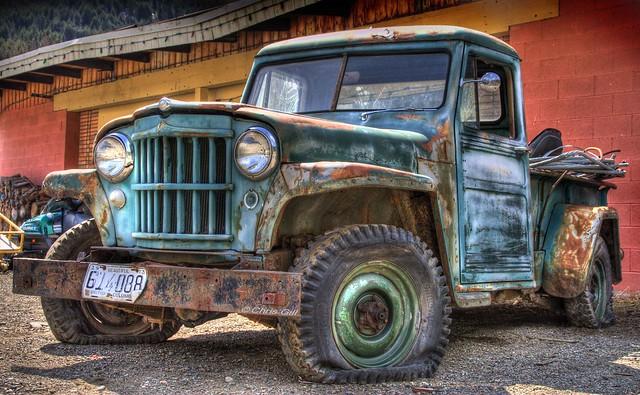 canada jeep britishcolumbia princeton hdr chrisgill 3exposures coalmont