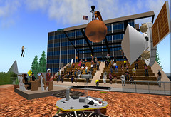 Mars Phoenix Landing Event in Second Life