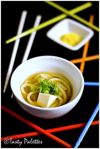Japanese Udon - Tofu Soup