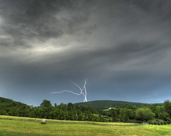Lightning over Short Hill Mountain