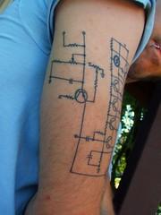 Healing Symbols Tattoos Moog Tattoo 3 Healed