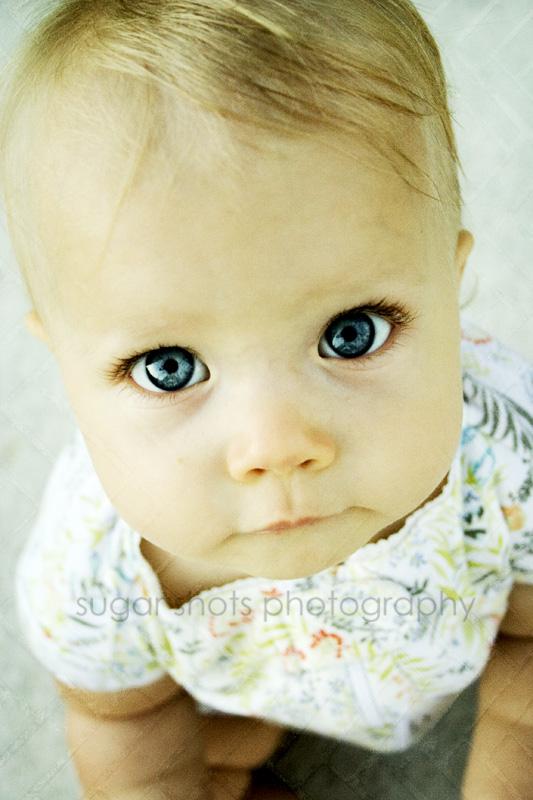 bold, blue eyes.