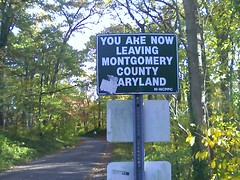 You are now leaving Montgomery County