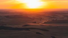 Drive Home (John Westrock) Tags: steptoebutte sunset landscape nature palouse rollinghills garfield washington unitedstates us dust farmfields rural steptoe pacificnorthwest canoneos5dmarkiii canon135mmf2lusm