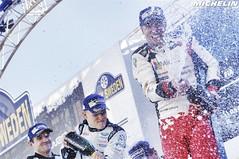 2017 WRC Rally Sweden - Podium (Michelin Motorsport_Rally) Tags: motor sport motorsport car 2017 auto rallye 17 rally championnatdumondedesrallyes wrcworldchampionship swe sweden torsby karlstad hagfors norway wrcworldrallychampionship