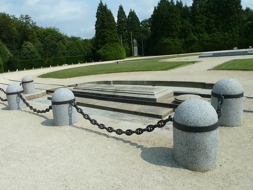 Armistice clearing at Compiegne - WW1 Armistice si
