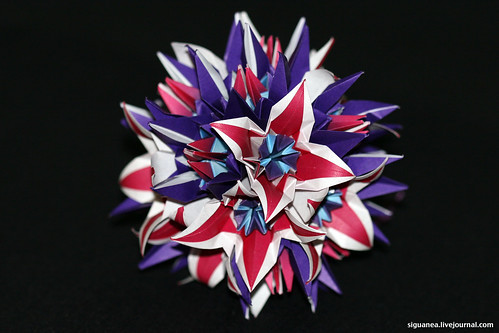 Version of kusudama No. 37