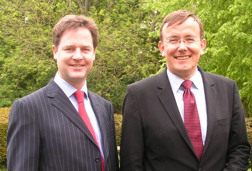 Nick Clegg and Martin Tod