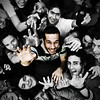 Faces, fingers and people (Stromboly) Tags: party portrait people smile fiesta faces gente fingers hans manos dedos caras sonrisa
