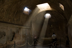Pompeii Forum Thermae Light Rays (Philipp Klinger Photography) Tags: light italy rome antique forum pompeii rays pompei thermae pompeji aplusphoto dcdead