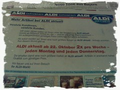 Aldi-Werbung