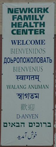 Welcome in Eleven Languages