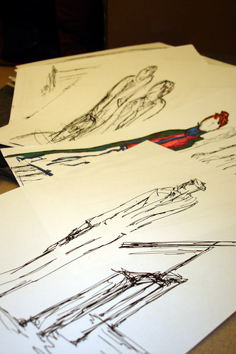 Piles of Scribbles - in progress -