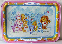 Care Bear Cousins TV Tray (sciencensorcery) Tags: 80s carebears eighties tvtray carebearcousins