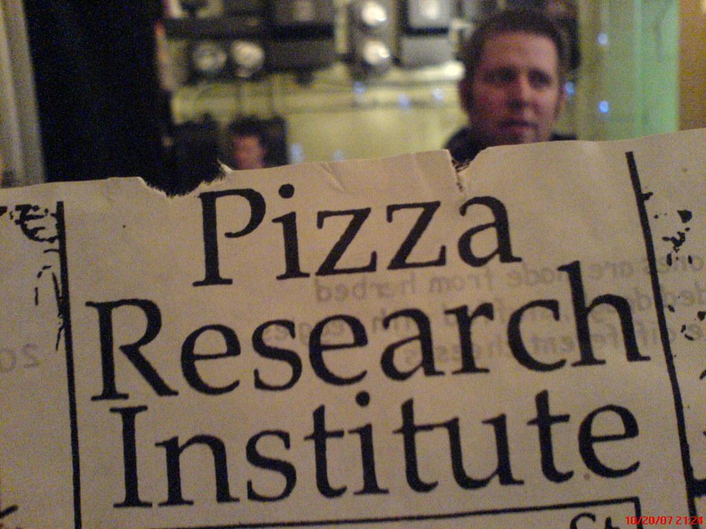 PRI - Pizza. Research. Institute.