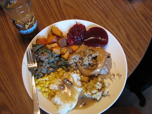 thanksvegan plate