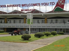 Leaving Mombasa