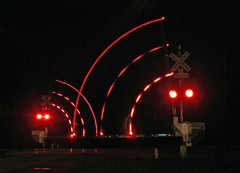 Rail Crossing  Lights (Marvin Bredel) Tags: railroad oklahoma lights bnsf railroadcrossing quinlan crossingarms marvin908 railroadcrossingarmlights marvinbredel
