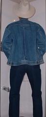 cowboy02 (splishsplash1123) Tags: cowboy jean denim jeanjacket wam westernwear wetdenim