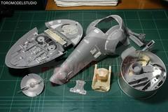 Star Wars - Slave 1 (Toromodel) Tags: star 1 modelos cine fantasia kits wars figuras ciencia slave ficcion replicas modelismo miniaturas maquetas toromodel