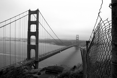 Golden Gate Fence BW