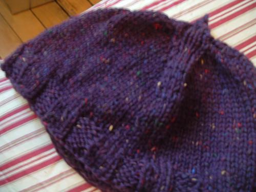 Hat Knit Flat