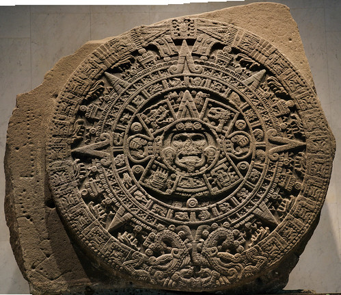 Aztec Calendar at the Anthropology Museum in Mexico City