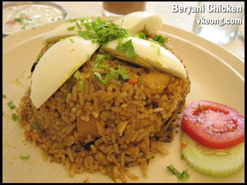 beryani chicken