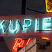 Kupie Cone sign detail