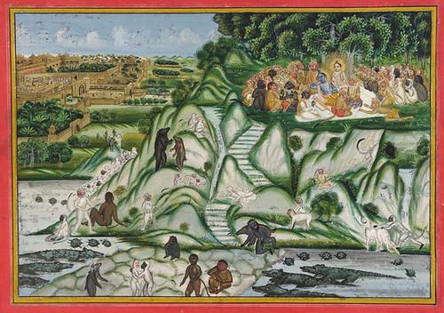 Rama_preparing_Lanka_siege