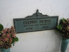 Freddie Prinze, who was 1/2 of Chico and the Man.  (09/03/2006)