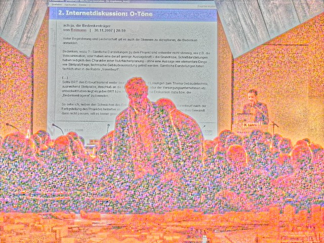 Brgerdialog Belebte Brcke - Kesselhaus by Udo Herzog