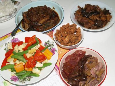 Menglembu 2nd day lunch