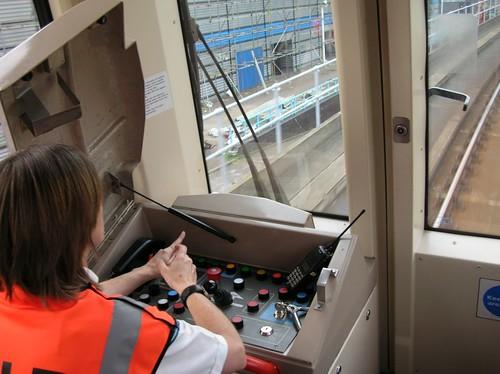 DLR under driver control