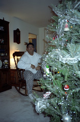 Christmas At Home (Joe Shlabotnik) Tags: christmas tree christmastree danny 1989 december1989 16dundalkroad datetaken:min=y1989m12d22 datetaken:max=y1990m01d07