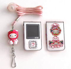 Hello Kitty Strawberry MP3 Player Samsung YP-T7JZ (pkoceres) Tags: pink japan strawberry sticker heart crystal hellokitty samsung mp3 sanrio electronics modified mp3player rhinestone gem jewel         hellokittystrawberry