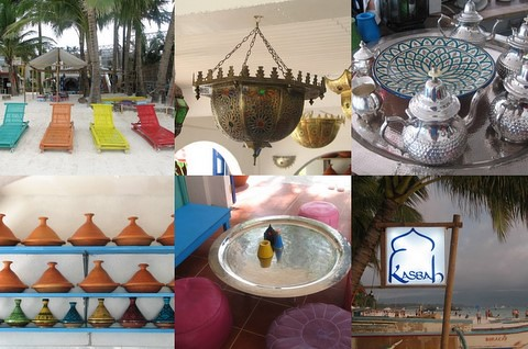 Kasbah collage