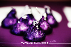 Yahoo! May (vanarts) Tags: logo corporate yahoo office singapore purple sweet chocolate snack happybirthday theme 2008 soe birthdaybash 13thbirthday yahoosingapore yahoosoutheastasia colorphotoaward aplusphoto diamondclassphotographer flickrdiamond