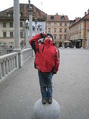 Ljubljana slovenia (jjan9) Tags: bridge slovenia ljubljana oldtown ljubljanica mesto staro staromesto newagesoldier